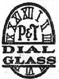 Dial glass trademark