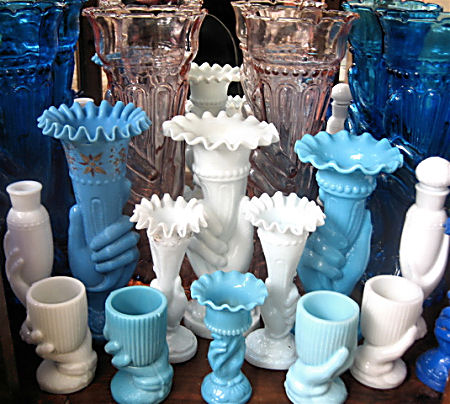 Group of Hand Vases