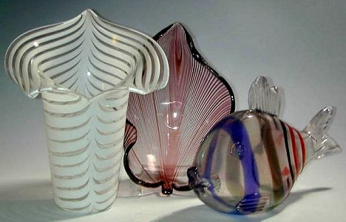 Venini glass designed by Tyra Lundgren