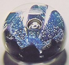 One of the first paperweights made at Caithness