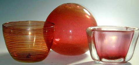 Carlo Scarpa glass designs