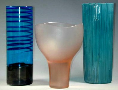 Venini glass by Stearns, TScarpa, GVenini