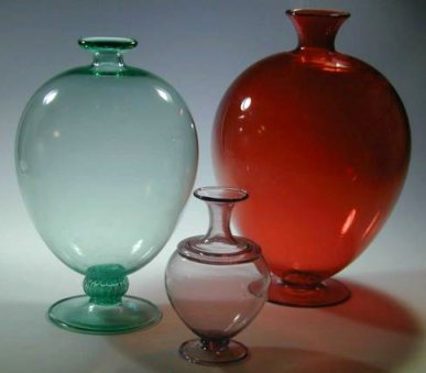 Vases designed by Zecchin