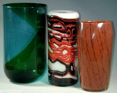 Venini glass designed by Wirkkala and by Succheri